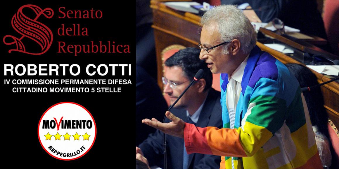 Sito ufficiale di Roberto Cotti | Portavoce del MoVimento 5 Stelle – Senatore della Repubblica Italiana