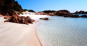 Spiaggia Rosa (Pink Beach) Isola di Budelli